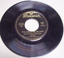 "Bing Crosby ""White Christmas"" 45 rpm Germany-Rare 4 track..........FREE SHIPPING"