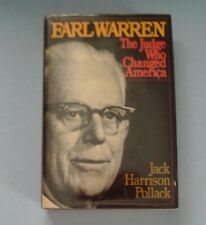 1979 EARL WARREN, The Judge Who Changed America, by Jack Harrison Pollack (HC)