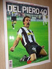 MAGAZINE BOOK ALESSANDRO DEL PIERO 40 GS GUERIN SPORTIVO EXTRA 2014 TUTTOSPORT