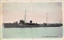 POSTCARD   SHIPS    HMS    KINGFISHER