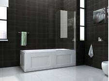 New Semi Frameless overbath shower screen 8mm 800x1400mm