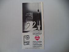 advertising Pubblicità 1962 CAFFE' HAG