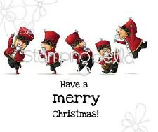 New Stamping Bella Cling Rubber Stamp Christmas Soldiers free us ship