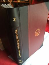 Secret Psychology of Freemasonry Signed Leather-Bound Masonic Occult Book