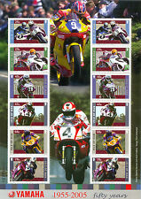 Isle of Man-Motorcycles-TT Races-Yamaha-min sheet mnh