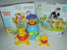 Lot of Disney Winnie the Pooh Toddler Toys - Spinner, Dolls, Foam Floor Puzzles