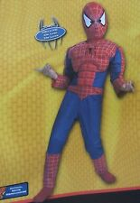 Spiderman 2 Spider-Man Movie Muscle Costume Size 7- 8 10 Medium New