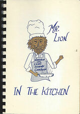 *TOLEDO OH *NORTHWEST OHIO LIONS COOK BOOK *MR LION IN THE KITCHEN *COMMUNITY