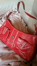 red bag by tommy hilfiger