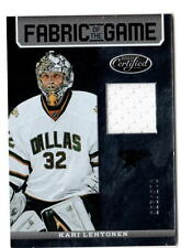 NHL Trading Cards---- Jersey Card----Kari Lehtonen---Dallas Stars---015/299