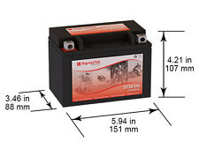 YTX9-BS, CTX9-BS ,WP9-BS, MBTX9U-BS, GTX9-BS, ETX9, STX9-BS Replacement Battery