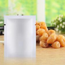 100pcs Aluminum Foil Mylar Bag Vacuum Sealer Food Storage Package Pouches FE