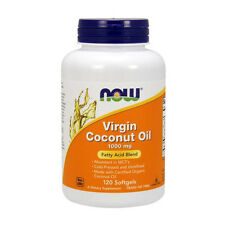 Coconut Oil (Virgin), 1000 mg (120 Sgels) - NOW Foods