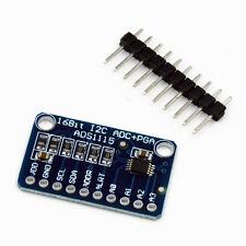 ADS1115 Modul 16 Bit I2C ADC 4 Kanal mit Gain-Verstärker für Arduino RPi