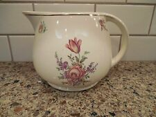 HLC Kitchen Kraft Household Institute Priscilla Ovenware 56oz Pitcher Jug 1940's