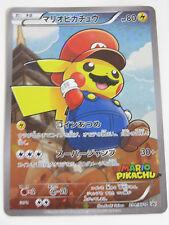 Pokemon Center  20th Anniversary Card Super Mario Pikachu Promo 294/XY-P Mint
