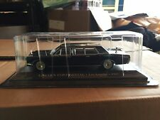 "DIE CAST "" LINCOLN CONTINENTAL LOS ANGELS - 1967 "" 1/43 TAXI SCALA 1/43"