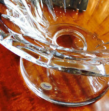 "ROGASKA CRYSTAL LARGE FOOTED CENTER PIECE."" CORONA"""