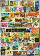 SRI LANKA-100 Different Large & Small with many high value stamps