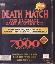 DEATH MATCH THE ULTIMATE GAME PLAYERS KIT FORDOOM DOOM2 pc large retail box new