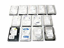 "Mixed Lot of 13 Seagate Maxtor Samsung 250GB 7.2K RPM 3.5"" SATA Hard Drives"