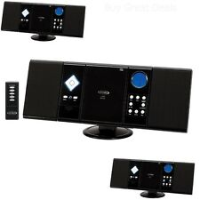 NEW WALL MOUNTABLE MICRO HOME STEREO SYSTEM AM/FM RADIO CD PLAYER w/ REMOTE