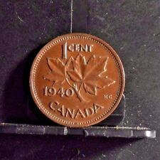 CIRCULATED 1940 1 CENT CANADIAN COIN (102516)1