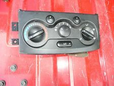2004 2005 2006 Chevy Aveo temperature climate control panel Used
