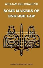 Some Makers of English Law by William Holdsworth (1966, Paperback)