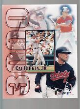 Cal Ripken Jr 3000 Hit Photo Collage shows different stages of career
