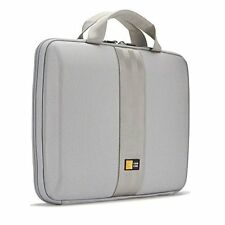 "CASE LOGIC HARD EVA CASE MACBOOK AIR 7""- 11"" TABLET NOTEBOOK LAPTOP iPAD SILVER"