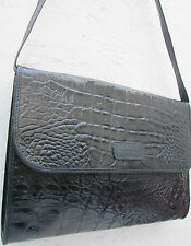 -AUTHENTIQUE sac à main type  malette  GIANFRANCO FERRE cuir TBEG vintage bag A4