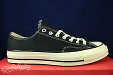 CONVERSE CHUCK TAYLOR ALL STAR 70 OX BLACK FIRST STRING CT 1970 144757C SZ 11.5