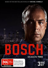 BOSCH  : THE COMPLETE SEASON 2  - DVD - REGION 4 - sealed