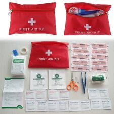 Survival First Aid Kit Bag Box Car Travel Home Workplace Office Medical Pack New