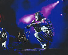 Corey Taylor auto-gra Slipknot Stone Sour Legend Iowa Music RARE PROOF COA LOOK!
