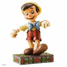 Disney Traditions Lively Step Pinocchio Ornament Figure Resin Figurine Gift Box