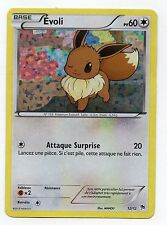CARTE pokémon française MAC DONALD HOLO Evoli  PV60 (12/12)  TBE