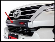 BLACK ABS PLASTIC FRONT GRILLE TRD COVER GENUINE TOYOTA NEW FORTUNER 201-5-16