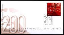 Inventores ciego fuente Louis Braille. FDC. Chipre 2009