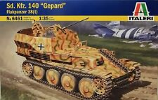 "New Italeri 1/35 Scale Plastic Kit No 6461  Sd.Kfz.140 ""Gepard"" Flakpanzer 38(t)"