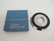 DURST SIXTUB 39 THREADED ENLARGING LENS PLATE IN ORIGINAL BOX