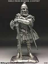 Tin soldiers 54 mm Noble Viking warrior. 9 century
