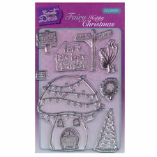 Sweet Dixie A6 Clear Stamp Set - SDCSA6099 Fairy Happy Christmas