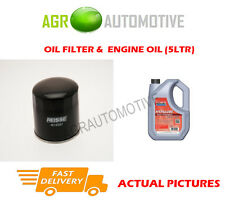 DIESEL OIL FILTER + FS 5W40 ENGINE OIL FOR TOYOTA COROLLA 2.0 72 BHP 1992-95