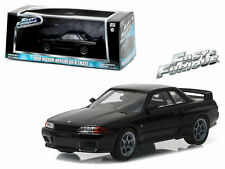 GREENLIGHT 1989 NISSAN SKYLINE GT-R (R32) FAST AND FURIOUS FAST 7 1/43 CAR 86229