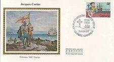 Canada FDC Sc # 1011 Jacques Cartier cover with Colorano cachet- WW 7302