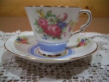 Royal Stafford Bone China Tea Cup & Saucer Made in England