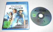 Blu Ray  Cowboys & Aliens  Daniel Craig  Harrison Ford  ...  sehr gut O1 19