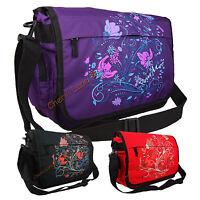 New Womens Girls Pour Moi Floral School College Uni Laptop Messenger Satchel Bag